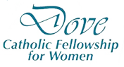 Dove Catholic Fellowship for Women Logo